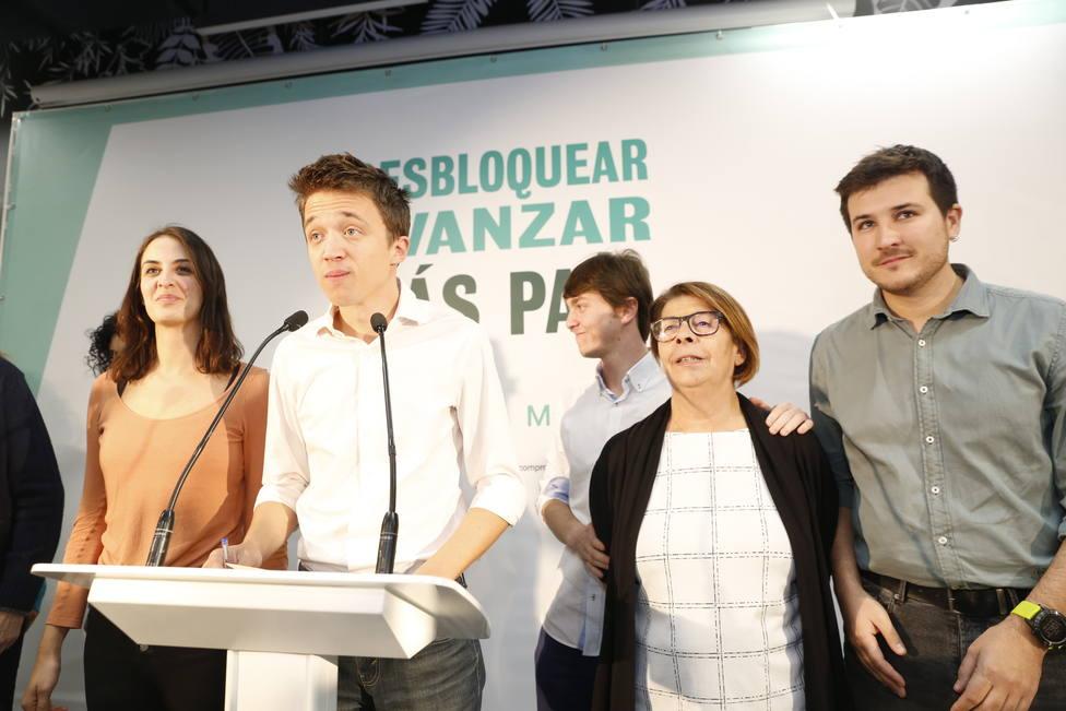 10N.- Errejón emplaza a PSOE y Unidas Podemos a negociar desde mañana mismo un gobierno progresista