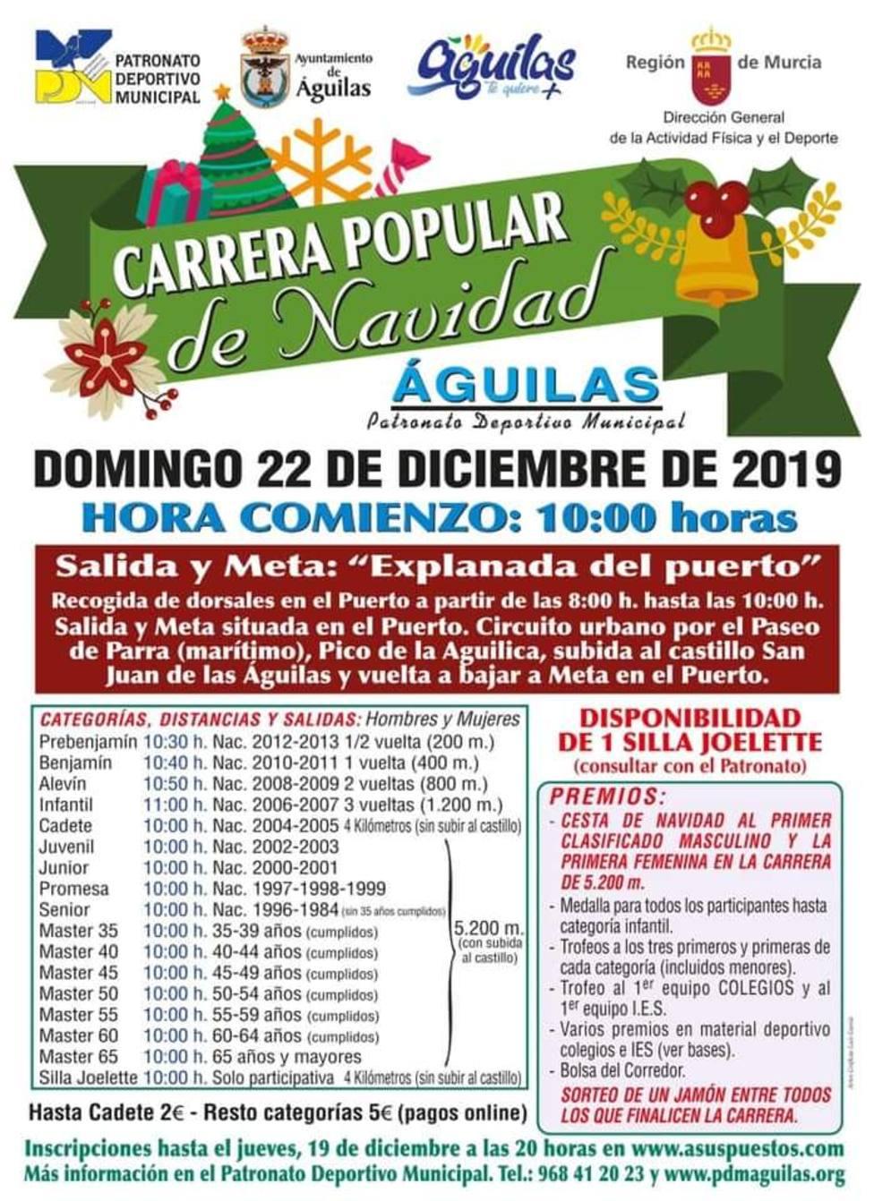 Carrera popular de Navidad 2019