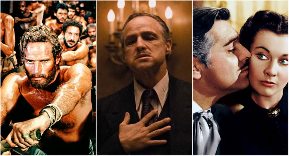 VOTA | Elige la mejor película de la historia: ¿Ben Hur, El Padrino o Lo que el viento se llevó?
