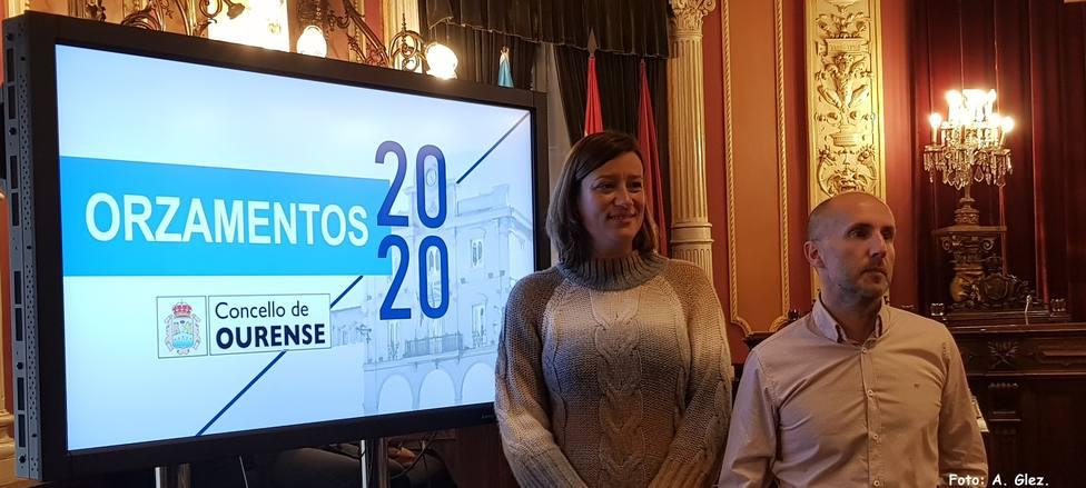 Ana Fernández Morenza y Gonzalo Pérez Jácome