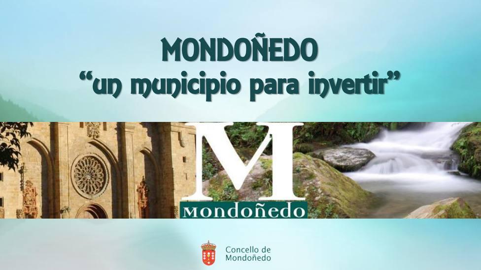 Portada de la segunda edición de la guía Mondoñedo, un municipio para invertir