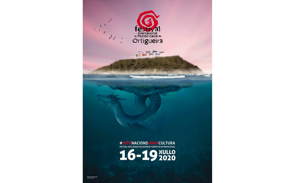 Cartel Festival Mundo Celta de Ortigueira 2020 - FOTO: Cedida