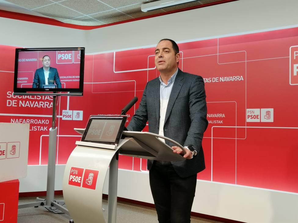 Los socialistas navarros, satisfechos al alcanzar un preacuerdo de presupuestos con Bildu