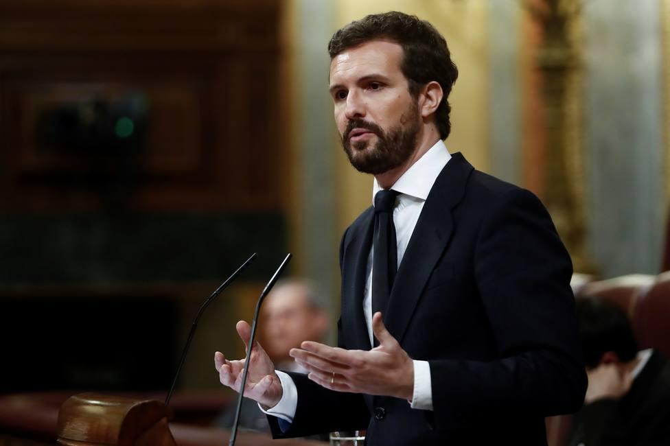 Casado pide decretar luto oficial nacional tras otro máximo histórico de muertos por coronavirus