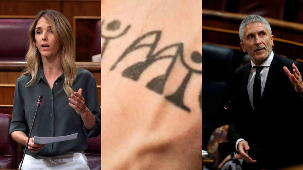 El significado escondido tras el tatuaje de Marlaska, entre los momentos más virales de este miércoles
