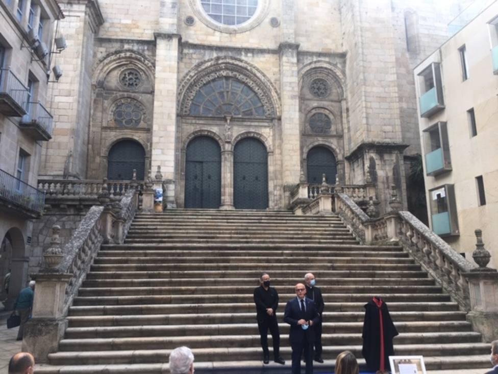 Inauguración del homenaje a las víctimas del COVID-19