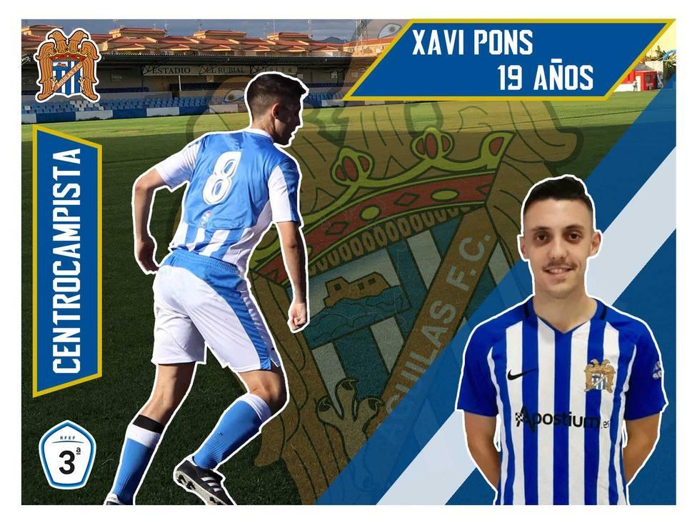 Xavi Pons, renueva un año más con el Águilas FC y jugará en el filial