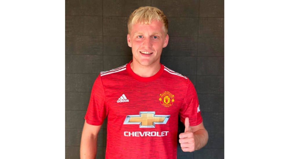 Van de Beek, nuevo jugador del Manchester United