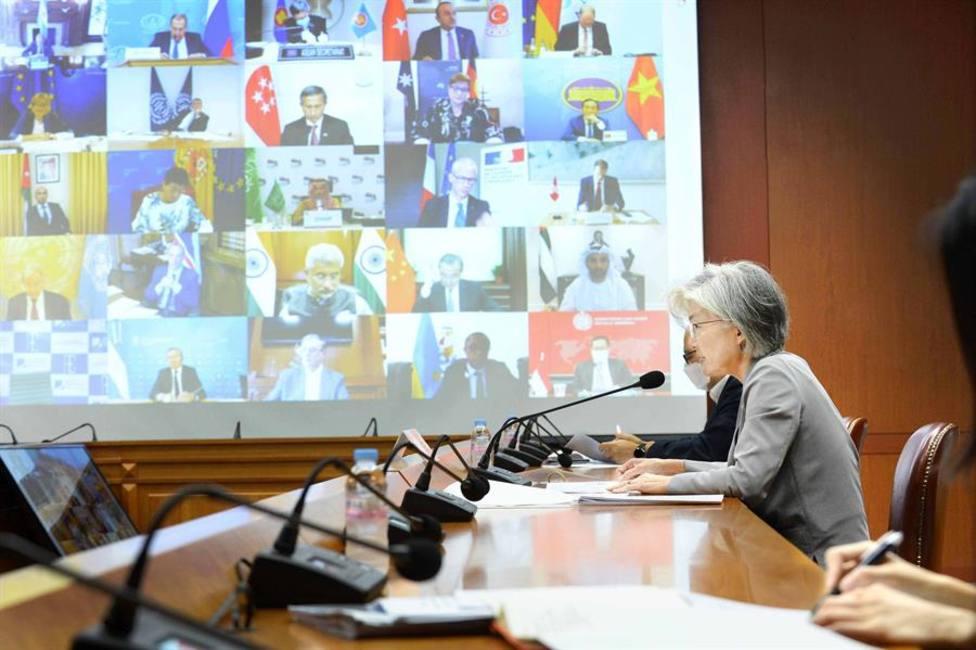 Reunión virtual de los ministros de exteriores del G20