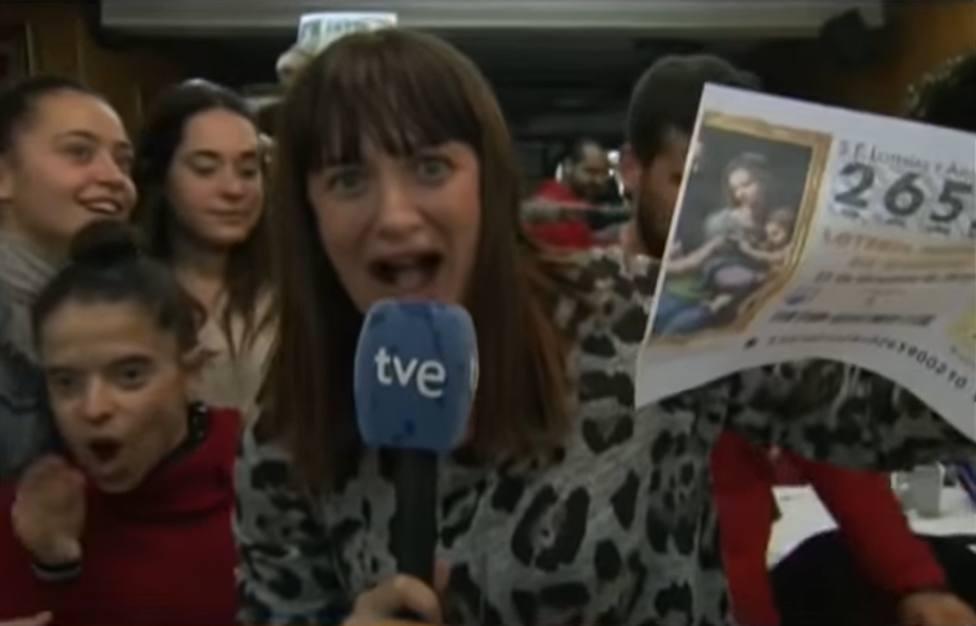 Natalia Escudero en La mañana de La 1 (TVE)