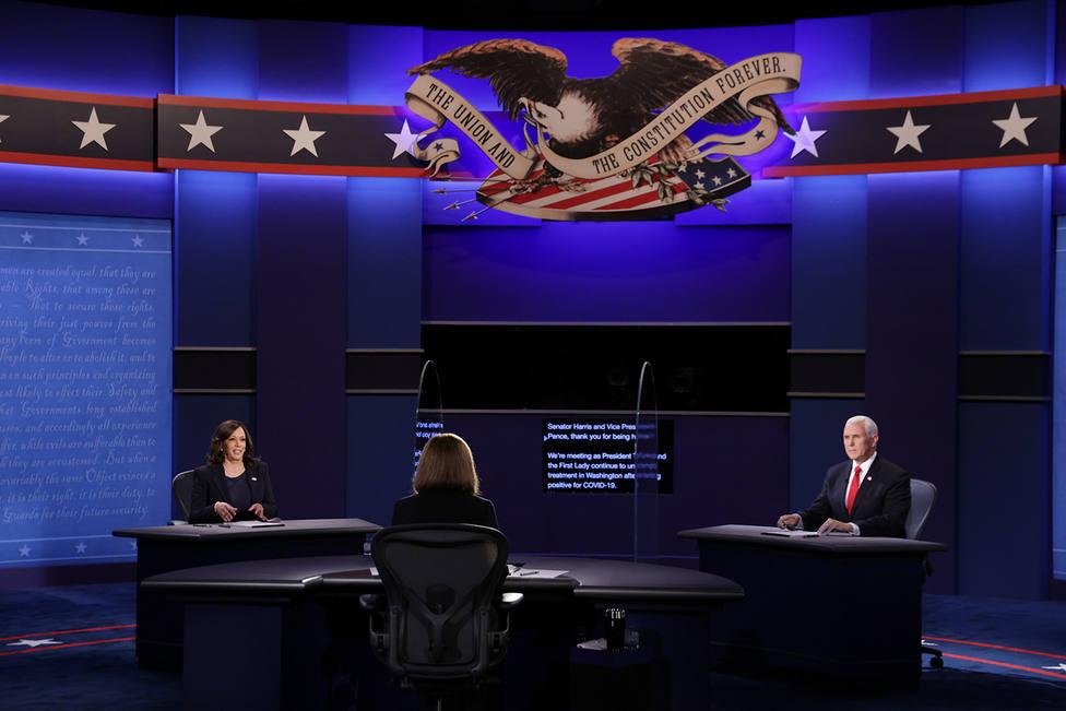 Kamala Harris y Mike Pence protagonizan un debate más sosegado que el de los canidatos a la presidencia
