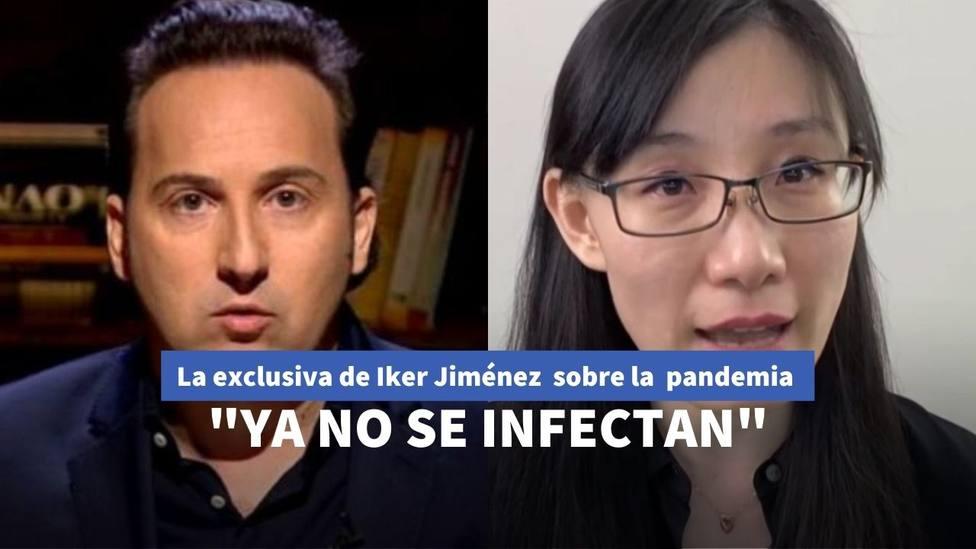Iker Jiménez consigue la exclusiva de la viróloga exiliada de China: ¿esconden la solución del coronavirus?