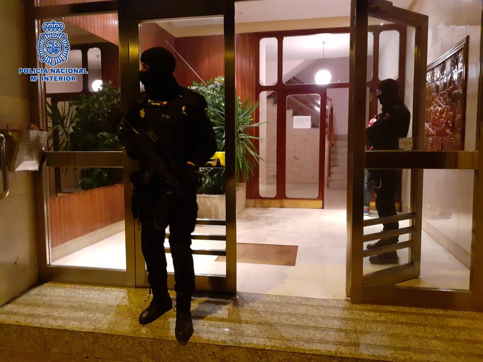 La Policía desarticula dos puntos muy activos de venta de droga a menores en Logroño