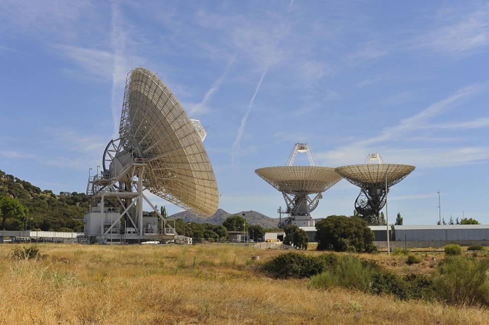 Antenas de la estación espacial de Robledo de Chavela /Foto: NASA