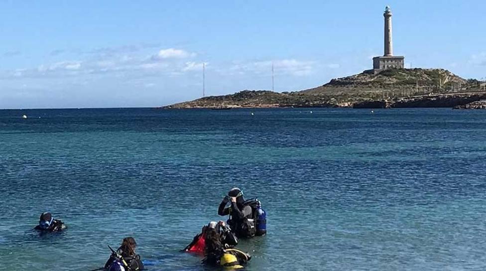 Aumenta el 10 % la práctica del buceo en la Región de Murcia a pesar de la pandemia