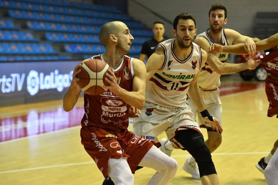 Real Murcia Baloncesto vuelve a fallar en el Príncipe de Asturias ante Covirán (68-80)