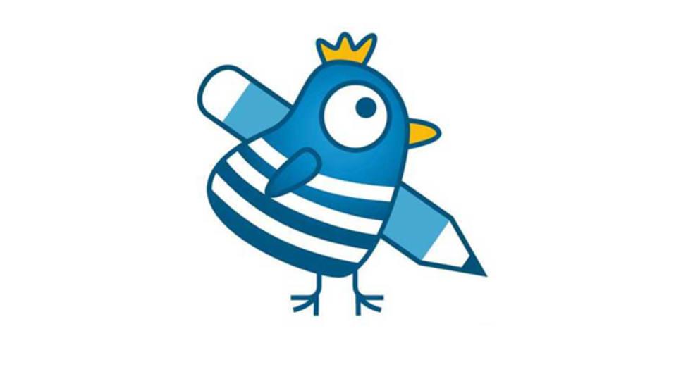 Logotipo de las escuelas infantiles A Galiña Azul de la Xunta de Galicia