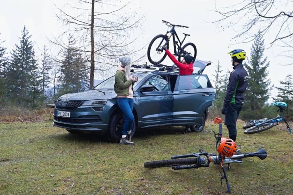 Una buena colocación de la bici en tu vehículo te ahorrará una multa.