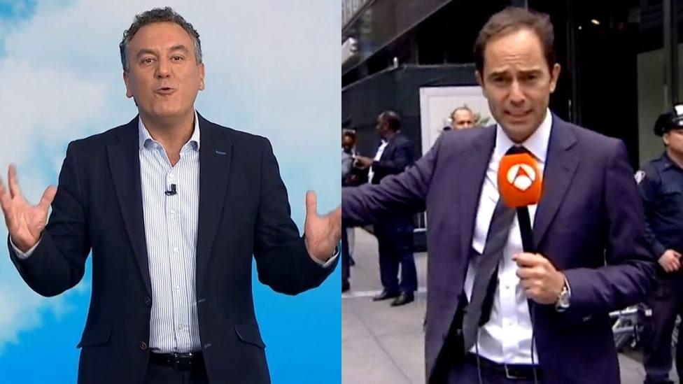 """La peligrosa conexión de un corresponsal de Antena 3 con Roberto Brasero: """"Casi me atropellan"""""""
