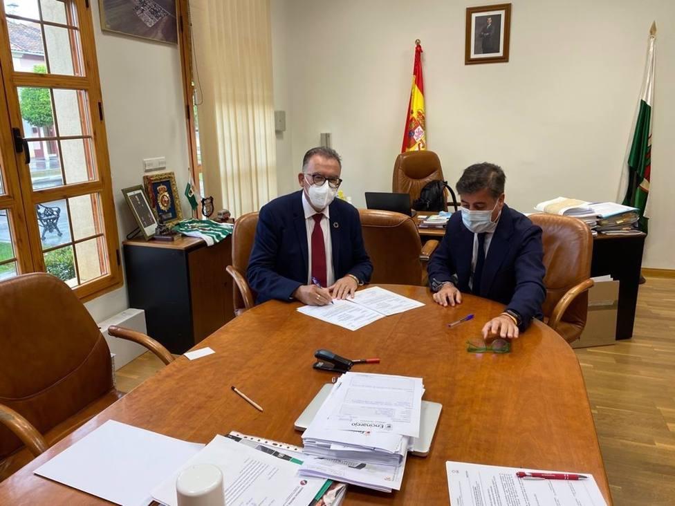 La Diputación concluye la primera fase de un nuevo espacio de usos múltiples en Encinarejo