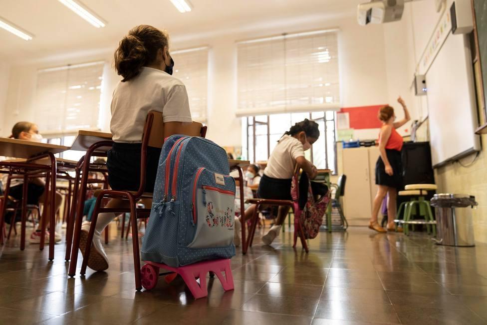 En abril se notificaron 227 nuevos casos positivos por coronavirus entre el alumnado de La Rioja