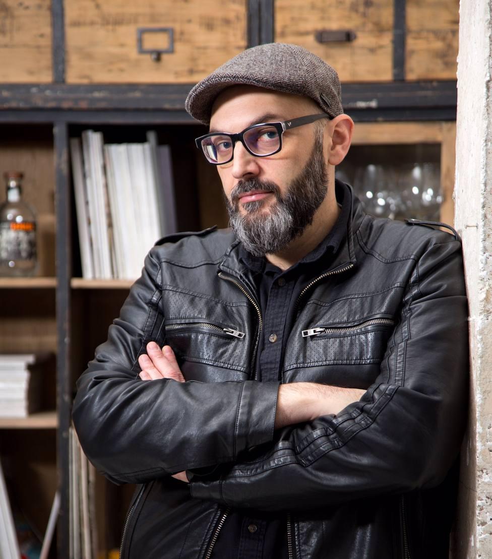 El autor Miguel �ngel Hernández, uno de los protagonistas del Primer Encuentro con las Letras Murcianas Ciudad de Mazarrón