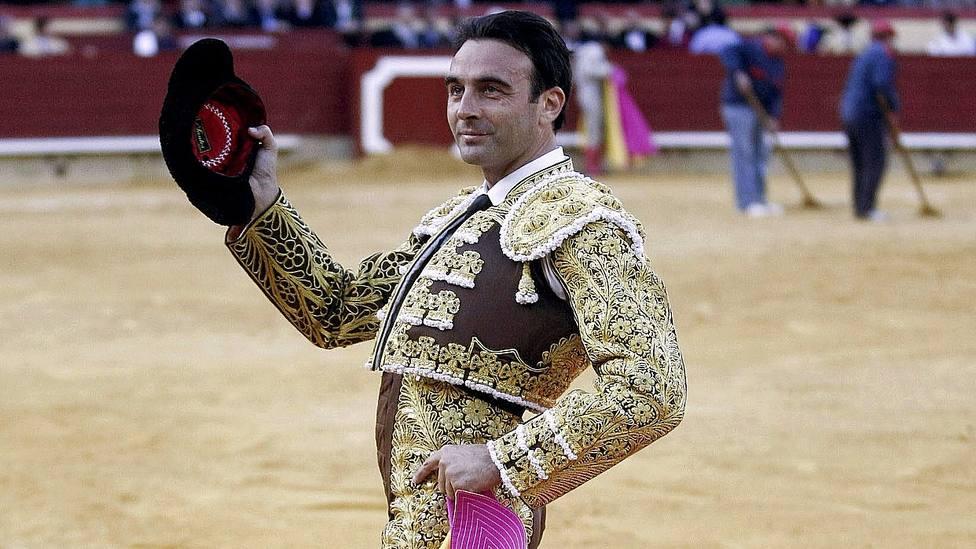 Enrique Ponce en una imagen de archivo en Castellón, donde ha cortado este sábado una oreja