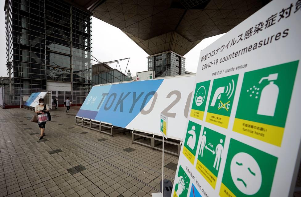 Las altas cifras de contagios ponen en peligro la asistencia de público en las competiciones olímpicas