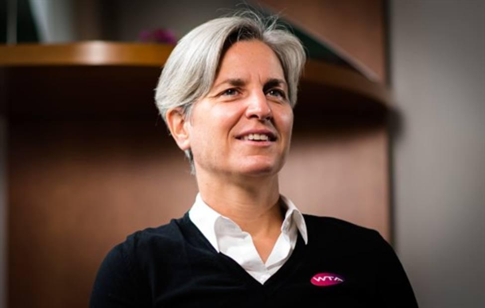 La juez de silla Marija Cicak
