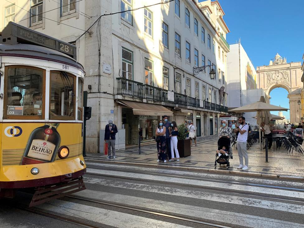 La incidencia y las hospitalizaciones siguen subiendo en Portugal