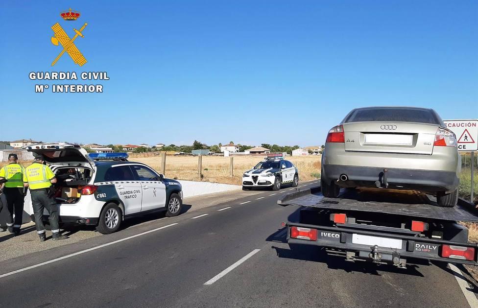Investigan a un conductor por fugarse de un control de Tráfico y dar positivo en alcohol
