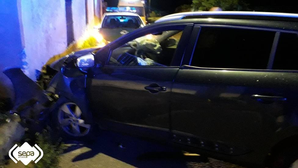 Accidente de tráfico en Serantes