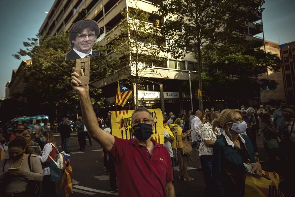 """Del ataque de Rufián a la """"represión"""" de Junqueras: las reacciones a la detención de Puigdemont"""