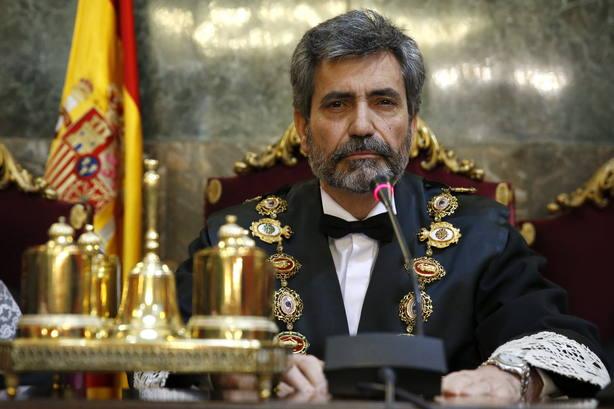 CARLOS LESMES TOMA POSESIÓN COMO PRESIDENTE DEL SUPREMO Y DEL CGPJ