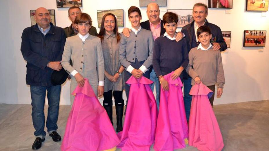 Inauguración de la exposición sobre la Escuela de Tauromaquia de Badajoz en Jerez de los Caballeros
