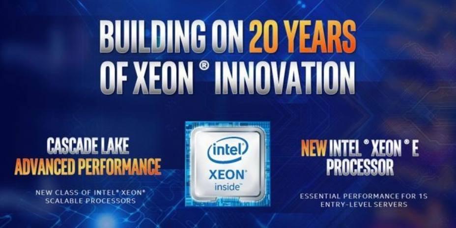 Intel anuncia la familia de procedores Cascade Lake de rendimiento avanzado con hasta 48 núcleos por CPU