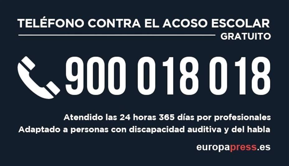 La Fundación ANAR gestiona ya el Teléfono contra el Acoso Escolar del Gobierno, que mantiene el número 900 018 018