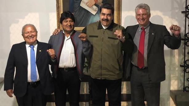 Varios presidentes viajan a Venezuela para arropar a Maduro en su investidura
