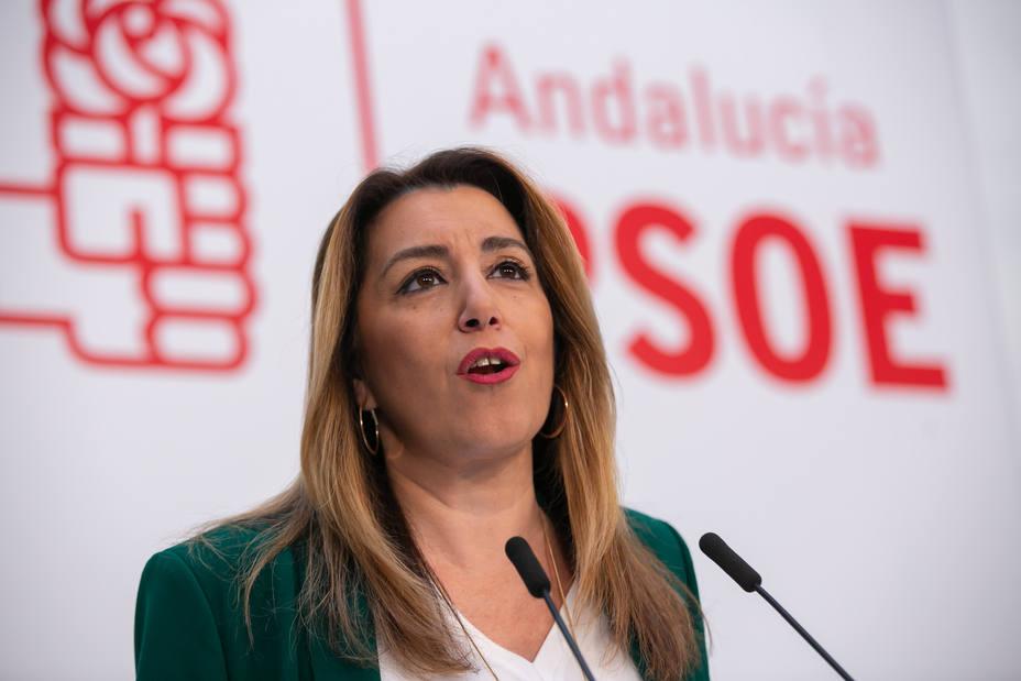 Susana Díaz liderará una oposición responsable y está dispuesta a repetir como candidata para recuperar la Junta