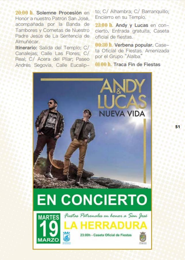 Concierto de Andy y Lucas