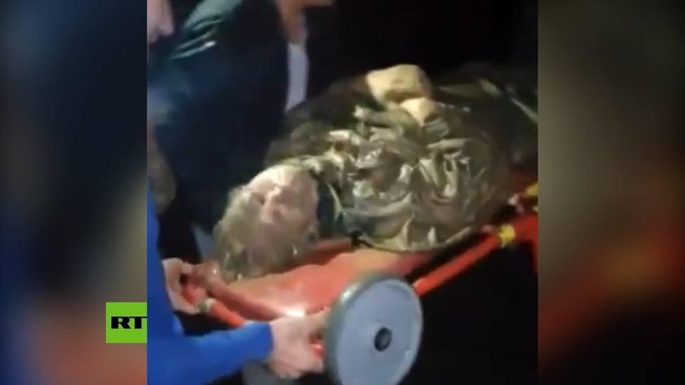 Una anciana rusa permanece un día en una ciénaga para salvarse del ataque de un oso
