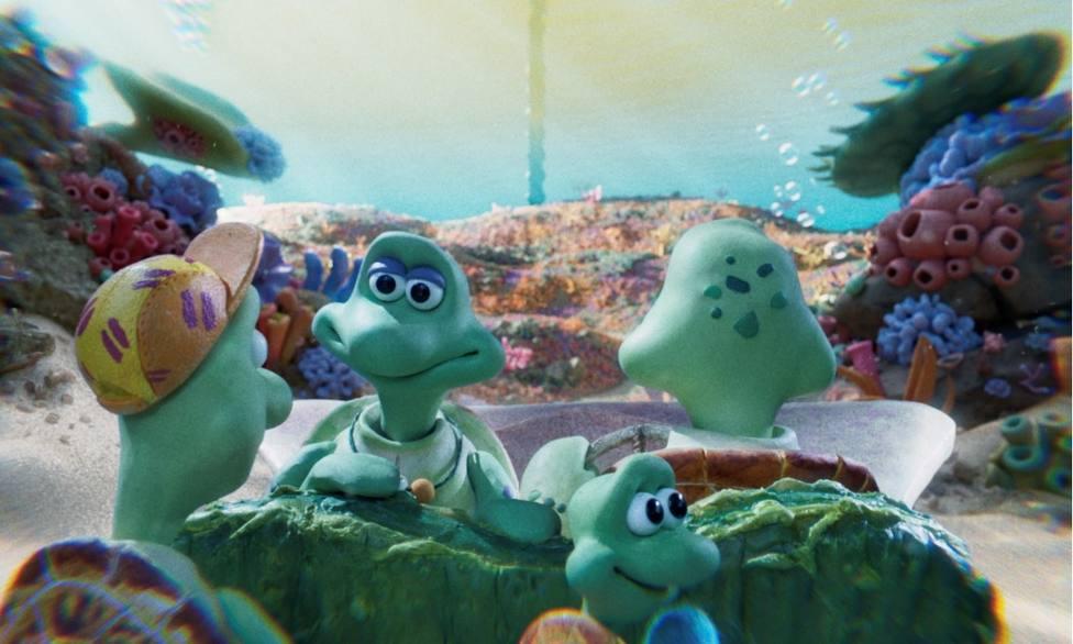 Helen Mirren y Olivia Colman denuncian en un corto de los creadores de La Oveja Shaun la situación de los océanos
