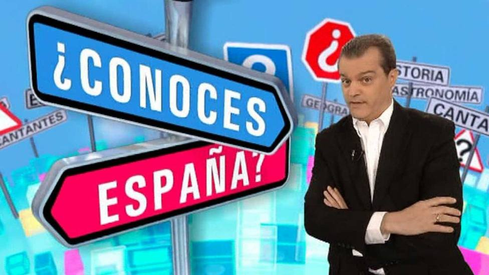 Ramón García durante su etapa en ¿Conoces España?