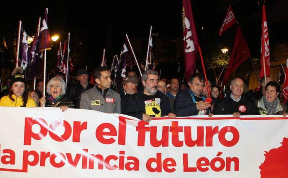 Manifestación de León.