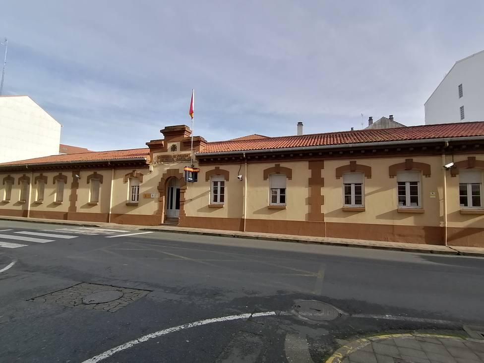 Foto de archivo de la comisaría de la Policía Nacional de Ferrol-Narón