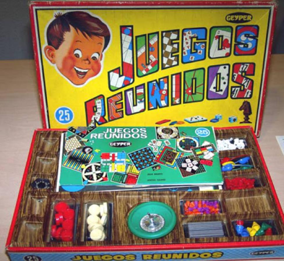 Así eran los Juegos Reunidos Geyper: el todo en uno de los juegos de mesa
