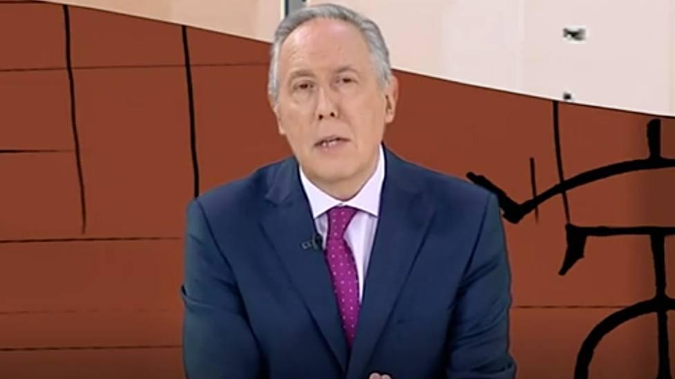Federico Arnás durante la emisión de Tendido Cero este pasado sábado