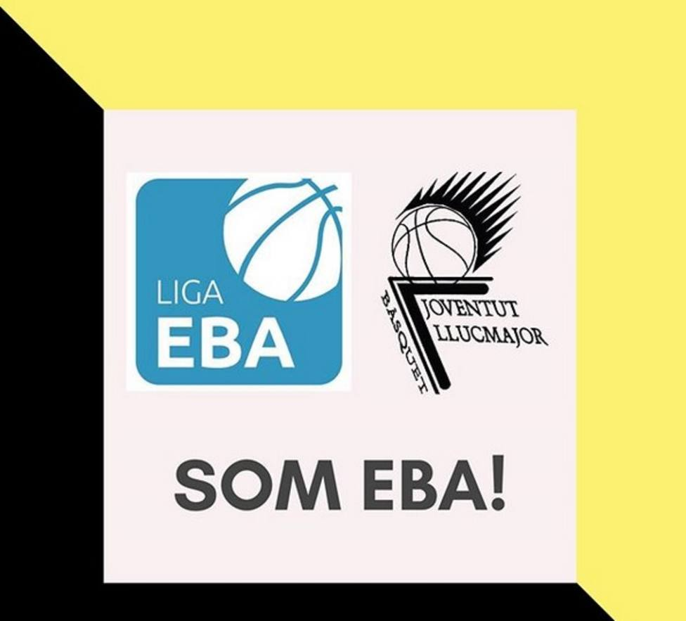Cartel del Llucmajor anunciando su entrada en EBA