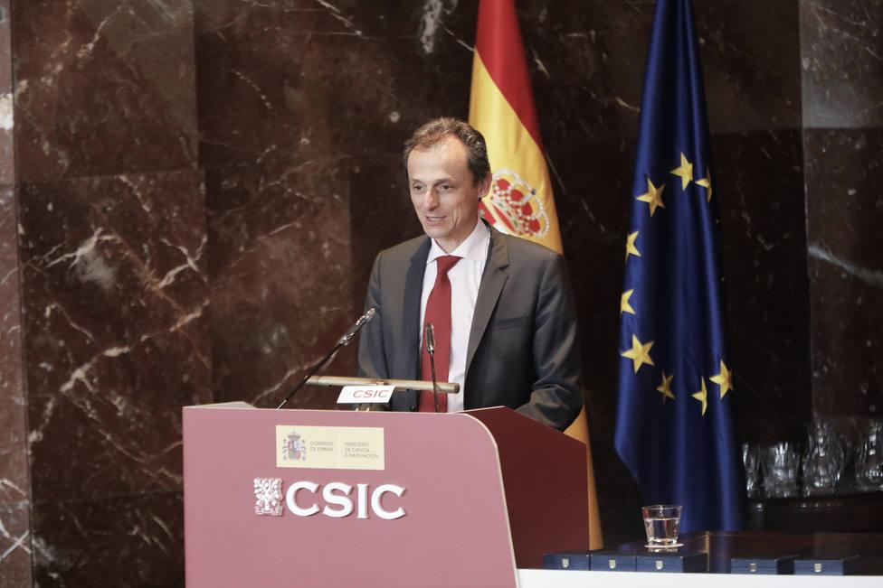 El ministro Duque muestra su orgullo por la contribución de España en la misión en busca de vida de Marte