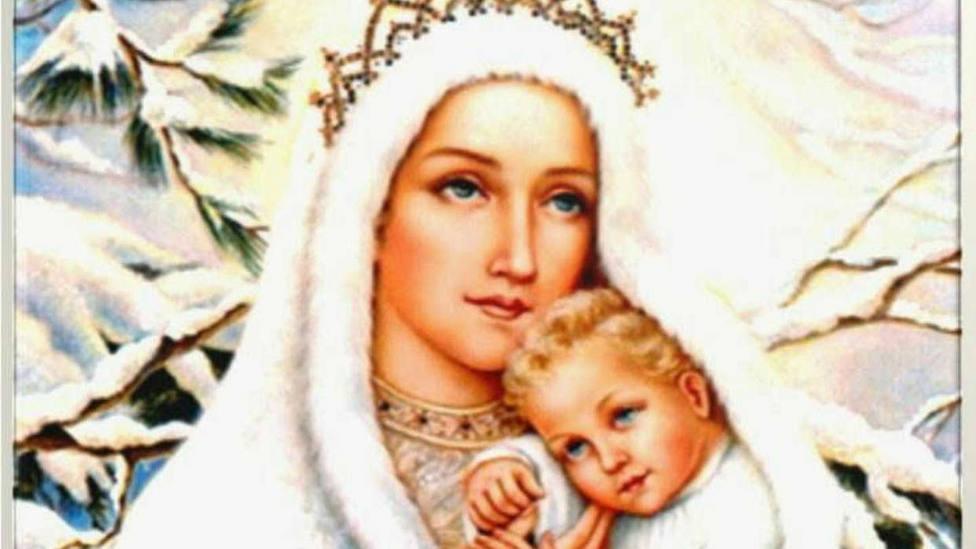 Santoral: Santa María de las Nieves, Templo fruto de la caridad de una familia